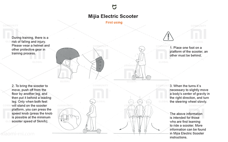 Download xiaomi electric scooter notice – electric scooter
