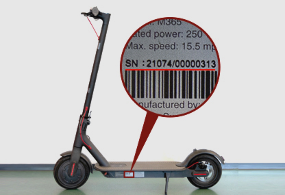 Toolsbox – electric scooter mijia M365 by xiaomi